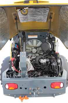 Gehl 650 Articulated Loader Engine