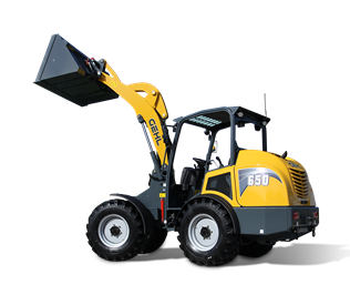 Gehl 650 Hydraulics Articulated Loader