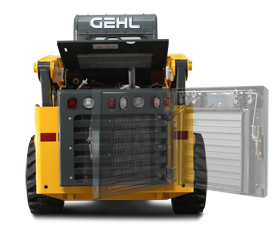 Gehl V270 Skid Loader Service Access