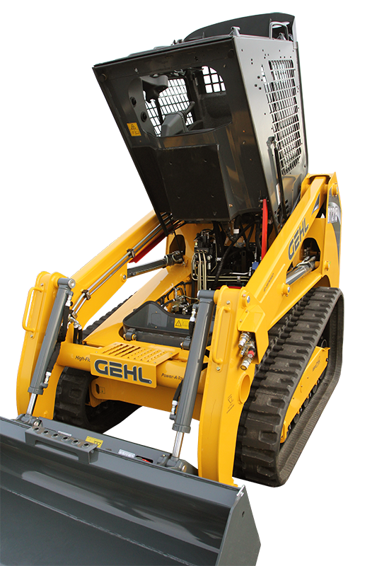 Gehl RT215 Track Loader Service Access