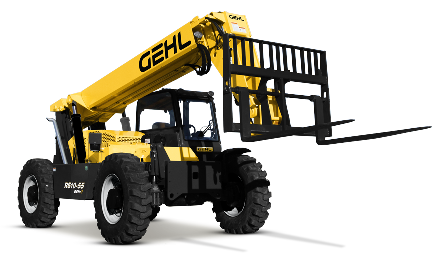 Geh RS10-55 Telehandler Performance