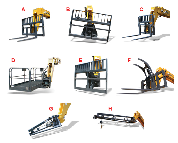 Gehl RS6-42 GEN:2 Telehandler Attachment System